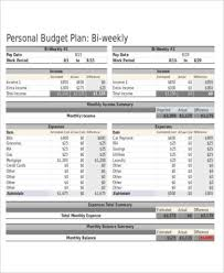examples of personal budgets sample personal budget spreadsheet 10 examples in word pdf excel