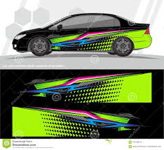 Free Decal Designs Car And Vehicles Wrap Decal Graphics Kit Vector Designs