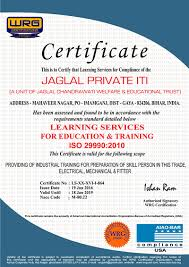 Welcome To Wrg Certification