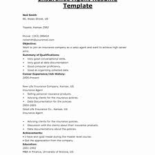 Insurance Agent Resume Job Description Best Of Job Wining Resume