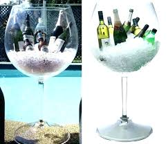 giant wine glass engraved giant wine glass centerpiece