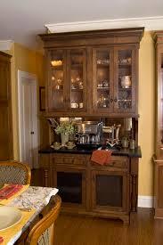 rustic dining room hutch. Rustic Dining Room Hutch With Double Glass Doors And Black Countertop Plus Warm Wooden Floor Idea N