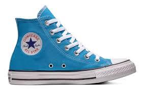 Mens Chuck Taylors Size Chart Converse Chuck Taylor All Star Hi Top Blue Hero