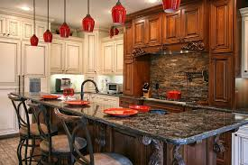 charlotte red pendant light with black kitchen islands traditional and  ledge earth tones