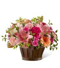 photo of flowers spring garden basket s 4