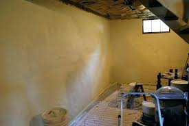attractive painting concrete basement walls image of amazing unfinished best way to paint poured base be
