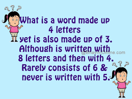 word riddle game what with 4 letters
