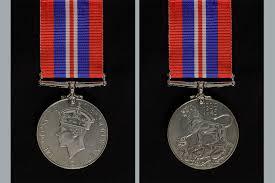 war medal 1939 to 1945