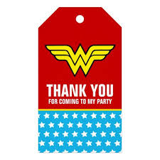 Pin by Wendi Hanson-Grelle on Maddie's 6th Birthday in 2020 | Birthday gift  tags, Wonder woman birthday, Happy birthday gifts
