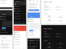 Stepper Material Design Steppers Ui Design Material Components For Figma By Roman