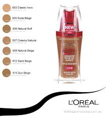loreal infallible makeup liquid foundation 606 natural buff makeup australia