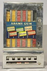 Antique Vending Machines Unique Pulver Chewing Gum Vending Machine 48's BACK In The DAY