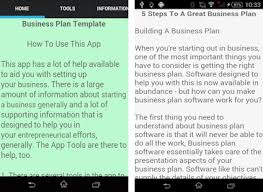 Business Plan Template Apk Download Latest Version 7.0- Business.plan