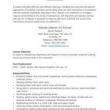 Sample Cleaning Resume Cleaning Job Resume House Cleaning Job Description For Resume 6