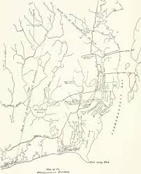 Map of pettaquamscutt purchase from thomas hazard son of robt calld college tom 1893