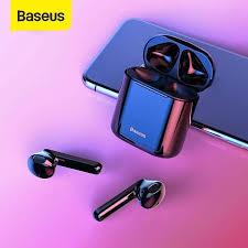 <b>Baseus W09 TWS</b> Bluetooth Earphone Waterproof HIFI Wireless ...