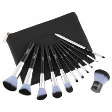 details about laroc 12pc professional makeup artist brush set kit cosmetic foundation blush