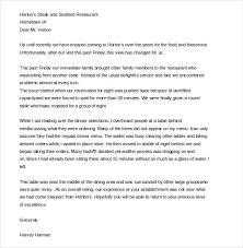 customer complaint letter sample example  scribd com in order to make a formal complaint to a restaurant following a poor service or bad food you need a well worded sample letter like this one to