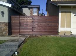 Architecture Vogue Horizontal Wood Plank Fencing SALA Architects