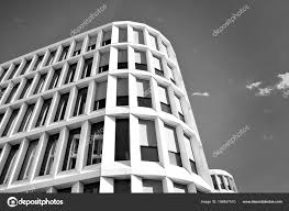 modern office building. City Modern Architecture In Perspective, Tall Buildings Black And White \u2014 Photo By Grand-warszawa Office Building T