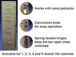ABUS File Cabinet Lock Bars