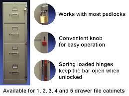 ABUS File Cabinet Lock Bars