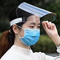 <b>10 PCS Face Shield</b>, Adjustable plastic Transparent Full Face ...