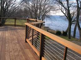 18 best cable rail fence images on cable deck railing diy