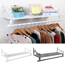 retro metal chic wall mounted clothes
