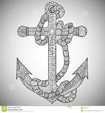 anchor coloring page