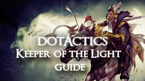 dota 2 keeper of the light guide youtube