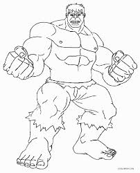 Incredible Hulk Coloring Pages Only And The Dapmalaysiainfo