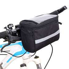 outdoor sports children front bicycle bags bike kid cycling basket pannier frame tube handlebar bag