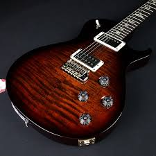 Prs Paul Reed Smith Tremonti Black Gold Tri Color Burst With