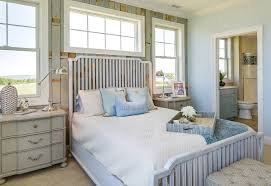 beach design bedroom. Exellent Bedroom Coastal Blue Bedroom Cottage Bedroom Paint Color Sherwin  Williams Copen Blue The For Beach Design