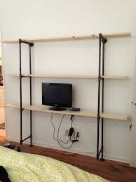 Industrial Bookcase Diy Diy Industrial Pipe Shelf Onigiri Everyday