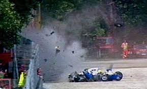 Ayrton Senna kaza yaptığı pistte anıldı