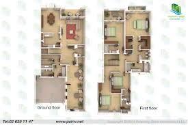 4 Plex House Plans Multiplexes Quadplex Plans With Regard To Most Quadplex Plans