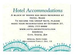 how to word hotel accommodations for wedding invitations accommodation cards for wedding invitations wedding invitations card