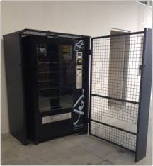 How To Open A Vending Machine Door Classy Cageopen Benleigh Vending Machines