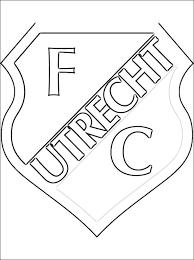 26 Nieuw Voetbal Logo S Kleurplaten Werkbladen En Kleurplaten