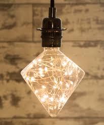 Diamond Designer Decorative Led Light Bulb 17w E27 Long Life