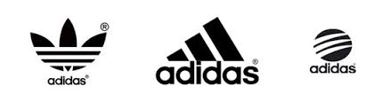 adidas shoes logo. the company was founded by adolf (adi) dassler, who started making shoes in 1920s with help of his brother rudolf dassler later put basis adidas logo i