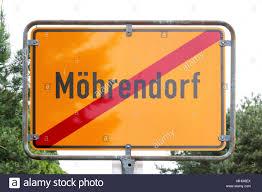 Moehrendorf, Alemania - 28 de abril de 2018: Vista de la ciudad, signo de  Möhrendorf. Möhrendorf es un municipio en el distrito de Franconia central  Erlange Fotografía de stock - Alamy