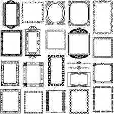 frame border. Modren Border Black And White Pattern Frame Border Vector For Frame Border A