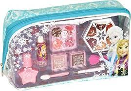 markwins disney frozen kosmetiktäschchen mit reißverschluss 1er pack schminktasche mit beauty produkten für