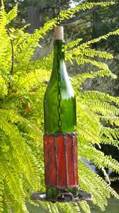 bottle bird feeder green no 1