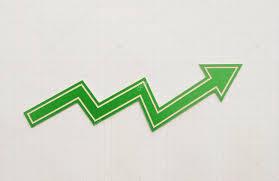 profit loss graph profit loss chart on graph paper stock photo inxti74
