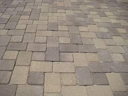 two piece cobble stone pavers