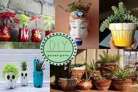 diy pots for plant ideas